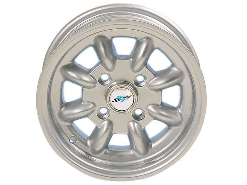 Mini Cooper Wheel 5x12 Silver W/caps No Lugs