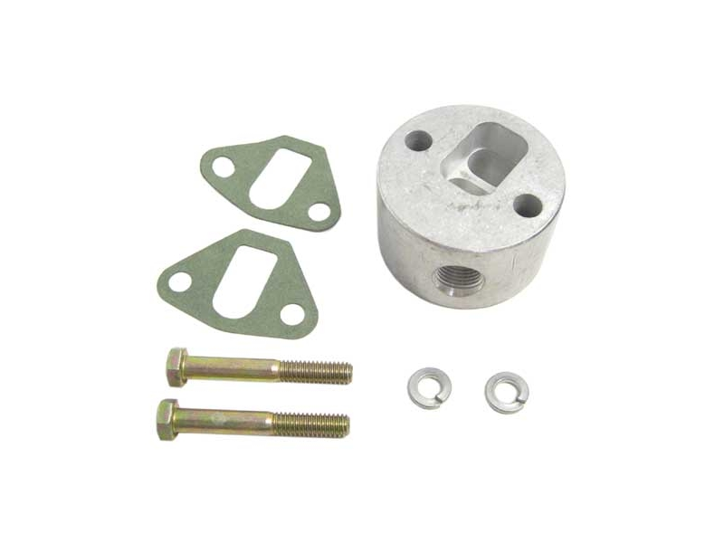 Crankcase Air Breather Kit Mechanical Fuel Pump Mounting