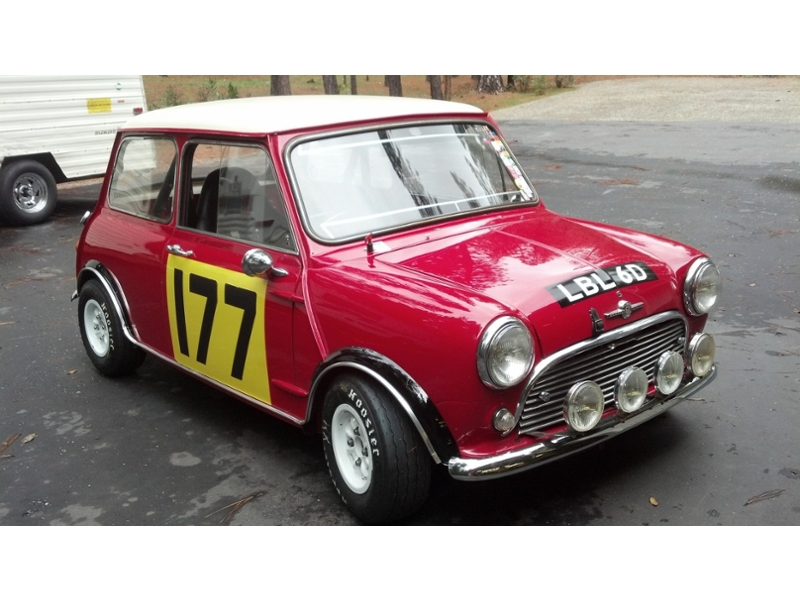 Classic Austin Mini Flare Kit Group 2 Works 1.75 Inch With Lip