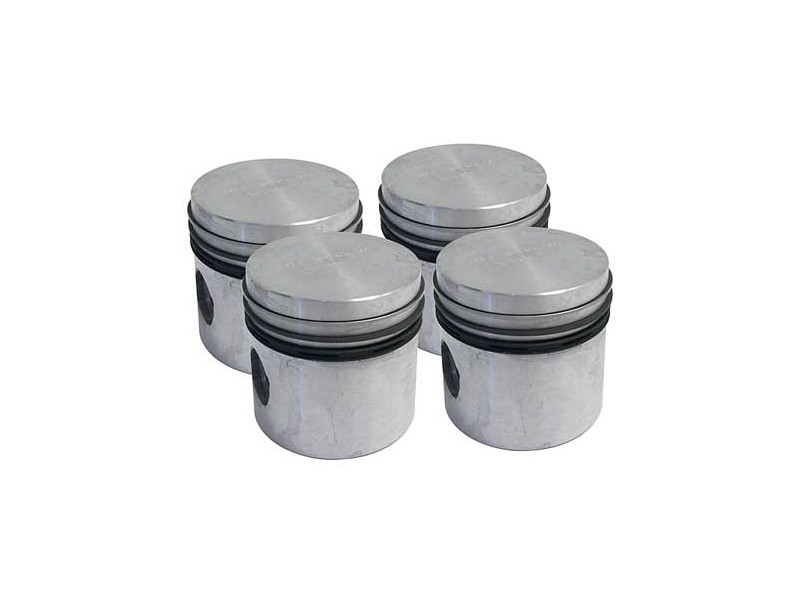 Mega + .060 Flat Top Piston Set