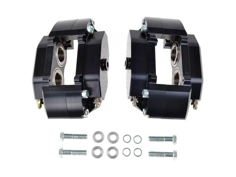 Classic Mini Brake Calipers Pair Alloy For S With 7.5 Discs Metro Pads