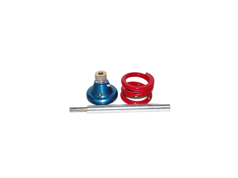 Blue Coil Spring Kit With Built In Hilo Billet Aluminum