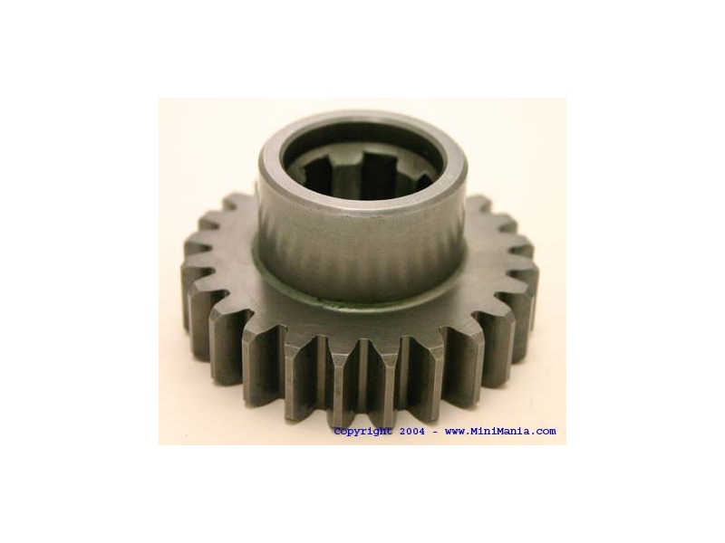 Gear Straight Cut 24 Tooth Broach Cut By Trannex