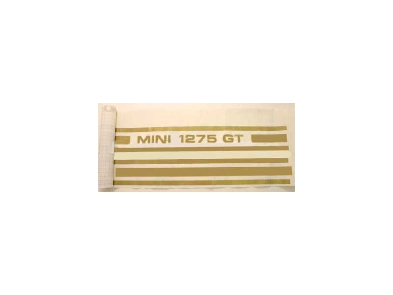 Classic Austin Mini 1275gt Stripe Kit Gold