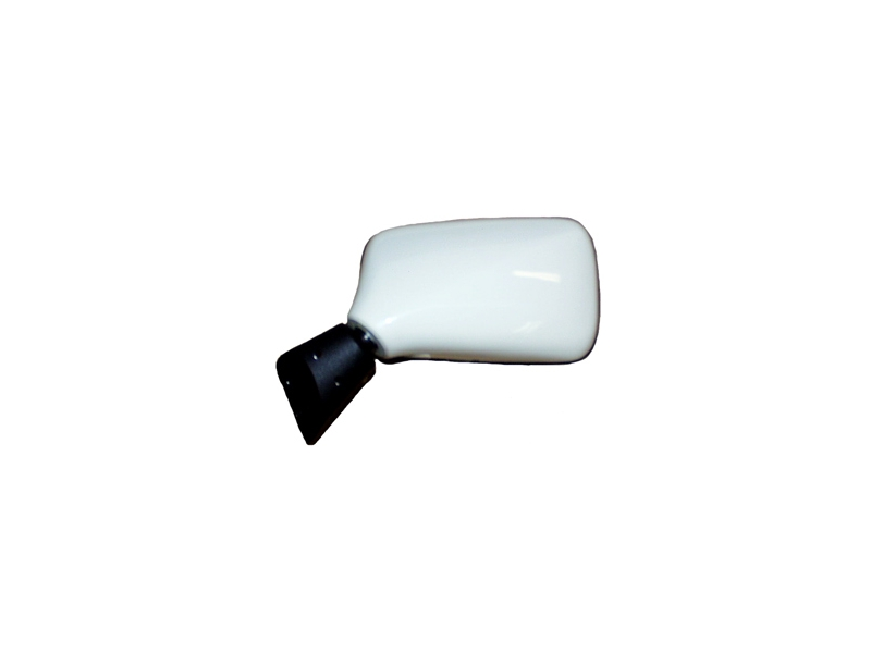 Classic Austin Mini Right Hand Door Mirror - White