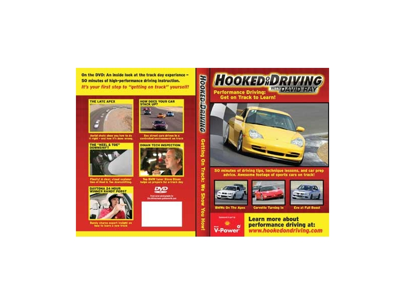 Hooked On Driving's 'getting On The Track' Dvd