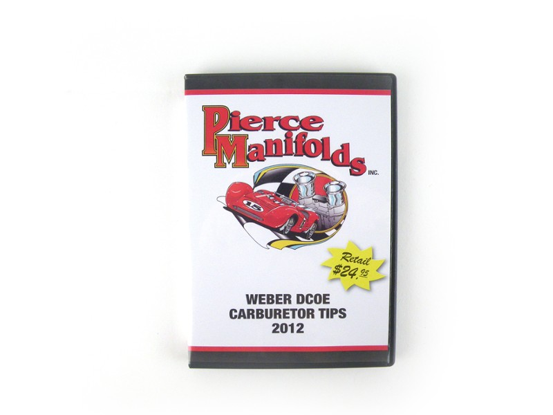 Pierce Manifolds Weber Dcoe Carburetor Tips Dvd