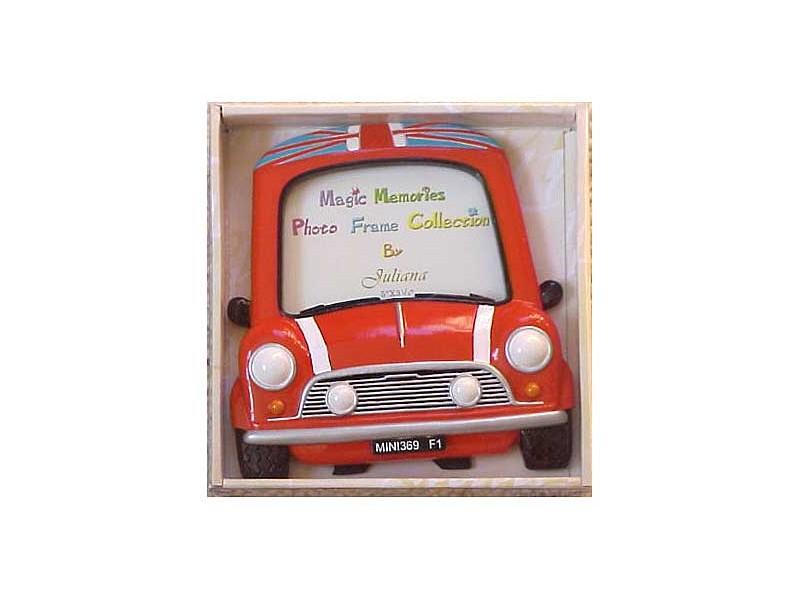 Mini Cooper Ceramic Picture Frame