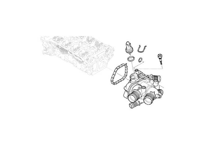 mini cooper thermostat housing application guide