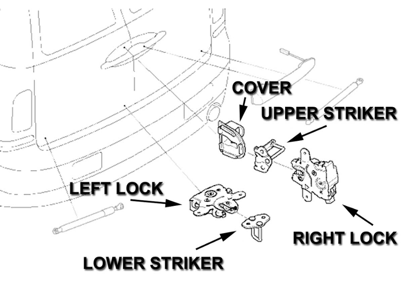 service manual  2008 mini clubman removal diagram