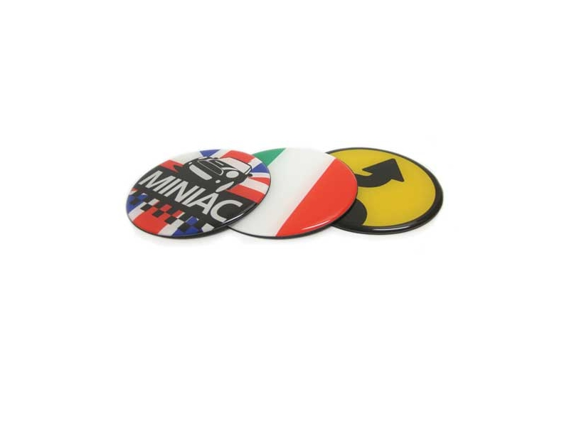Dome Style 3 Magnetic Badge - Philippine Flag