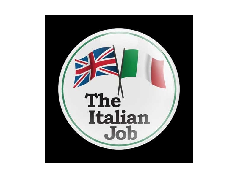 Dome Style 3 Inch Magnetic Badge - Italian Job