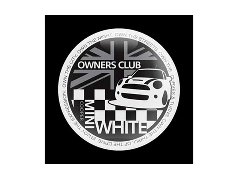 Mini Cooper Mini Owners Club Dome Style Magnetic Badge