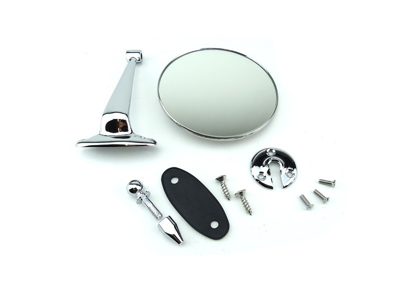 Classic Austin Mini Mirror Period Door Stem Mount