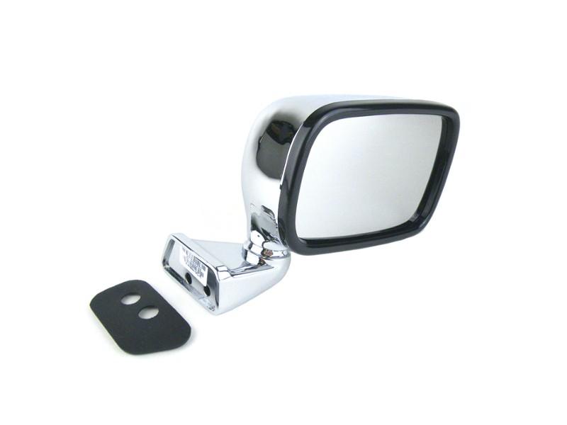Classic Mini Chrome Door Wing Mirror L//R Hand Pair GAM111 GAM110