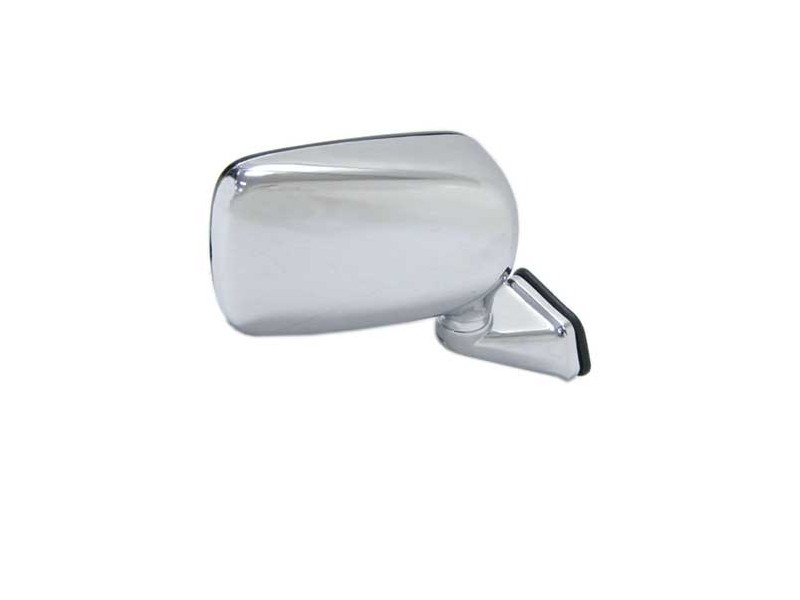 Mini Cooper Domed Stainless Steel Door Mirror Right Hand