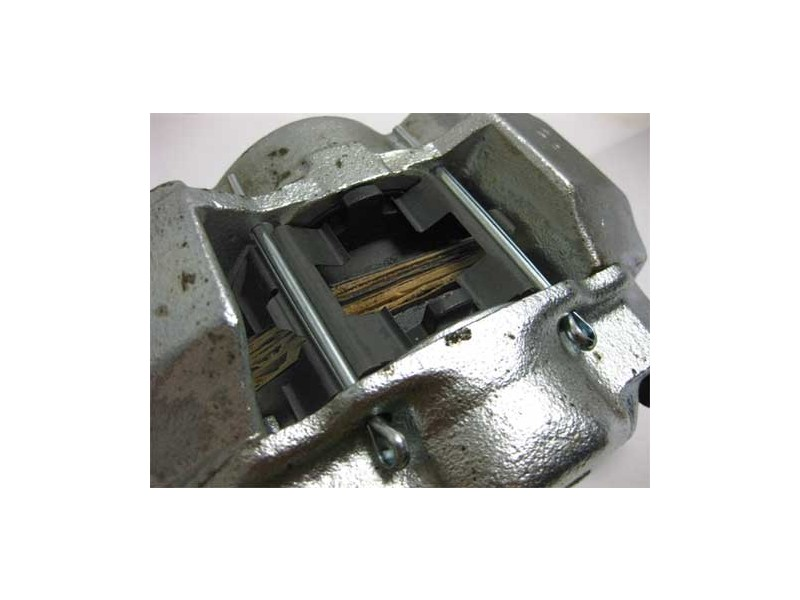 Brake Caliper Left '84-on 12 Wheel Mini 8.4 Disc