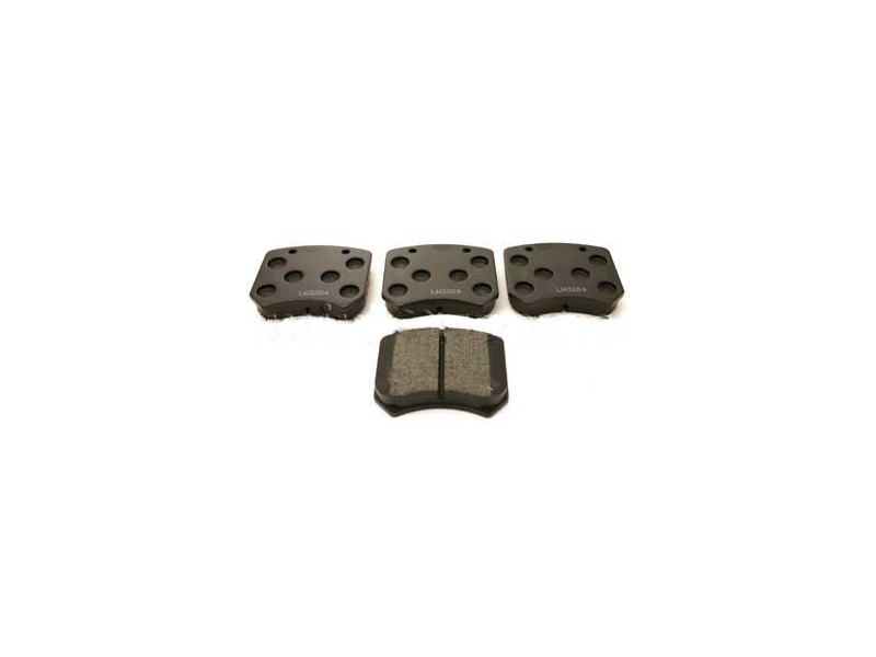 Brake Pads 's' Kevlar Ebc (black) - Mini & Mini Cooper