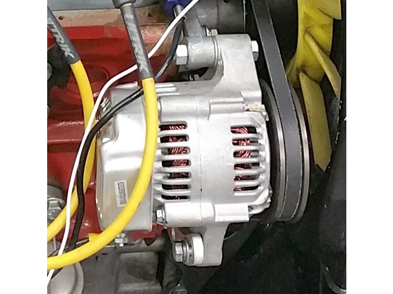 Alternator high performance single wire lightweight on