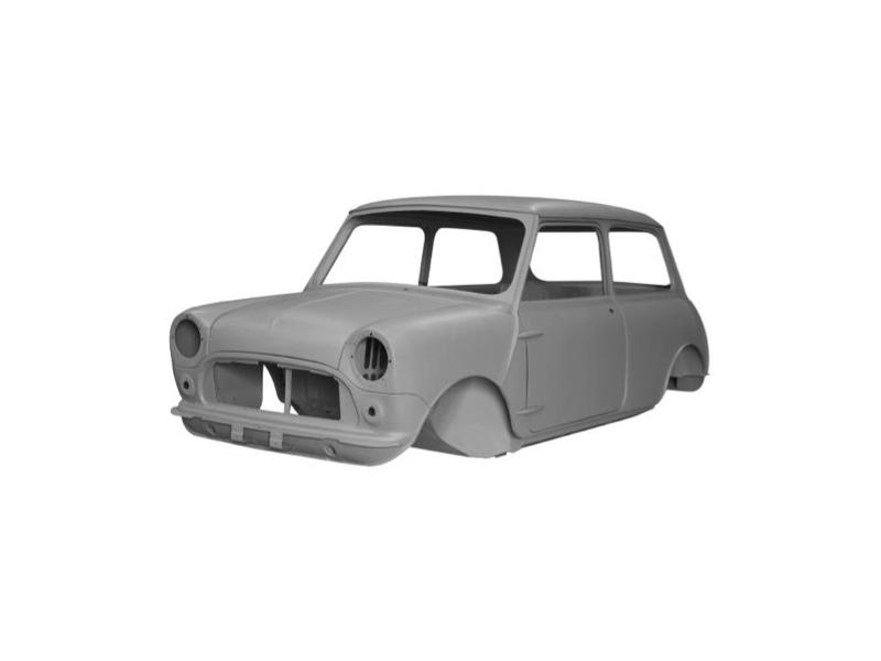 Classic Mini Body Shell Complete Mki