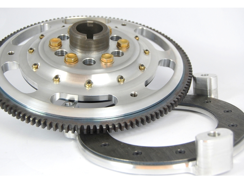 Classic Austin Mini Kad Aluminum Back Pressure Plate And Race Flywheel