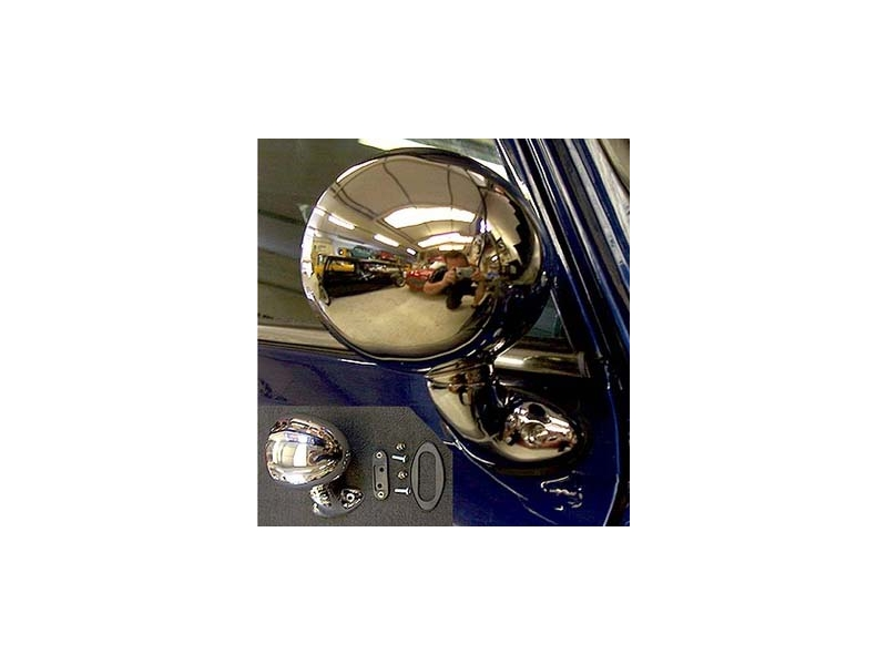 Classic Austin Mini Tex Bullet Right Hand Side Door Flat Mirror