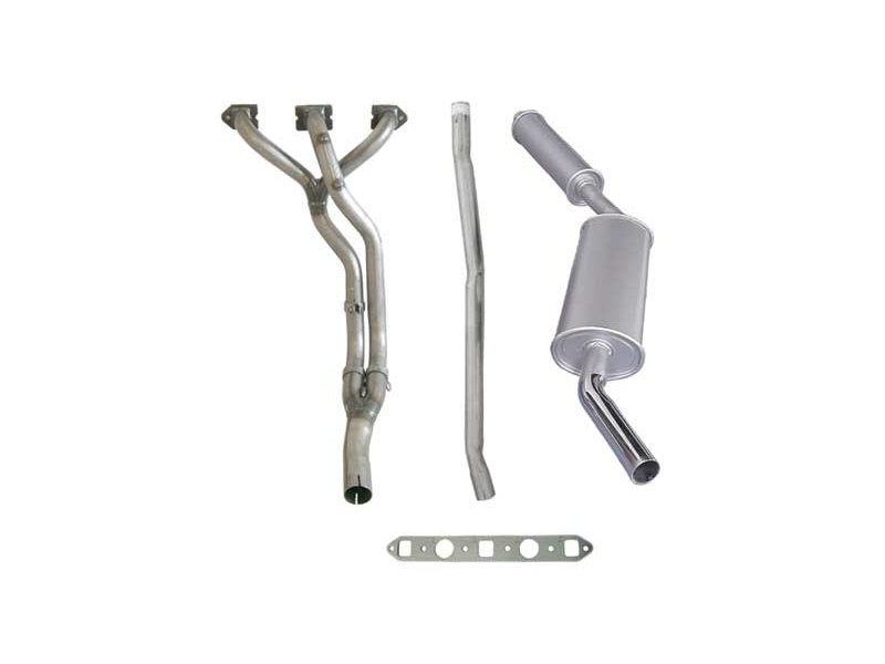 Mini & Cooper Complete Exhaust System - Header And Muffler