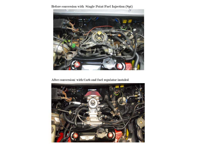 Austin Mini Spi Fuel Injection To Hif Su Carb Conversion