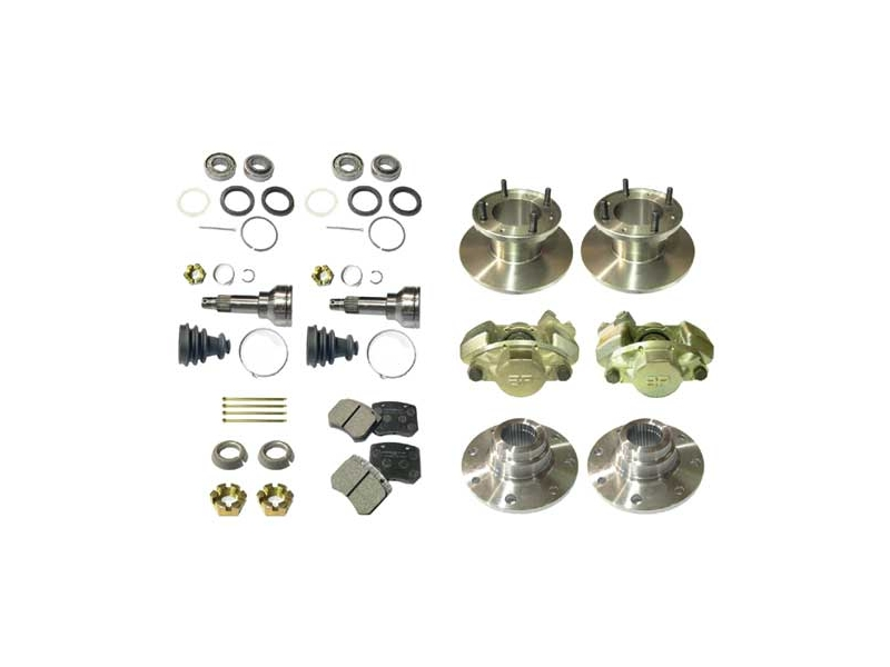 Austin Mini Brake Conversion Kit Cooper 7 To Cooper S 7.5