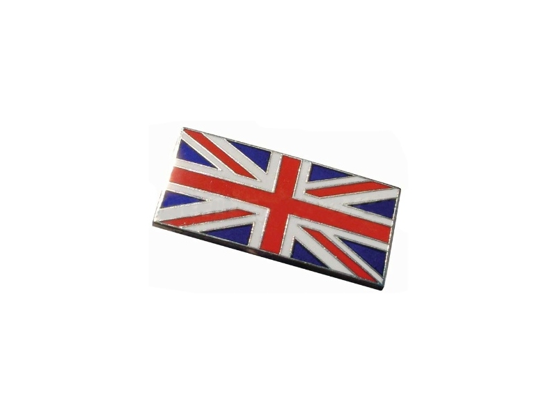 Classic Austin Mini Enamel Union Jack Stick On Badge