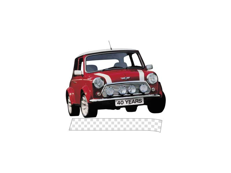 Classic Mini Late Bonnet Stripes White Sold In Pai