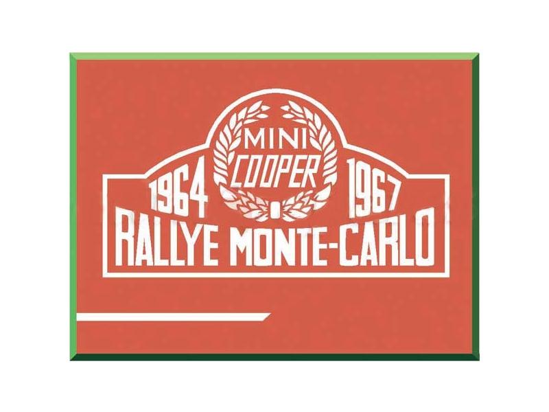 Classic Austin Mini Rallye Monte Carlo Decal Kit
