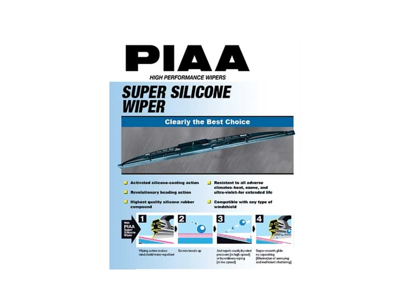 Piaa Super Silicone Wiper Blade (22/550mm)