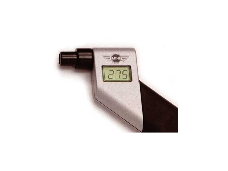 Tire Pressure Gauge - Mini Digital - Cooper & Cooper S