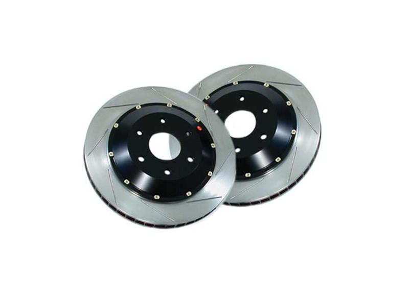 Stoptech Big Brake Kit Slotted Rotors W/hats Pair - Mini Cooper & S
