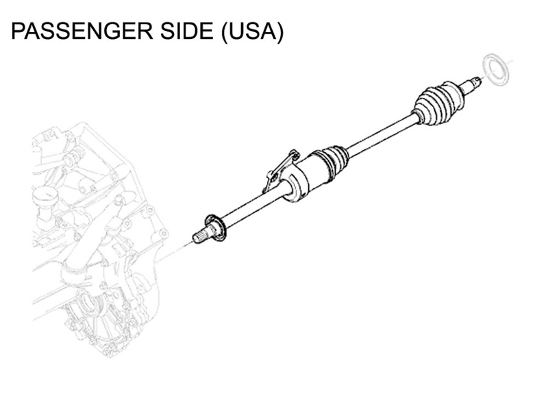 Mini Cooper Drive Shaft Axle Left Auto Value Priced Gen1 Non-s on delta faucet diagrams, ge diagrams, cooper lighting diagrams,