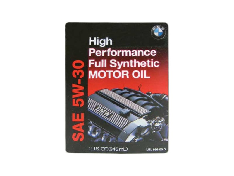 Mini Cooper Engine Oil Sae 5w-30 Full Synthetic 1 Liter