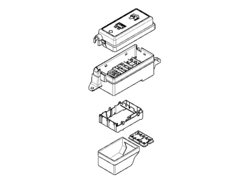 mini cooper fuse box oem gen1 r50 r53 from 03  2003
