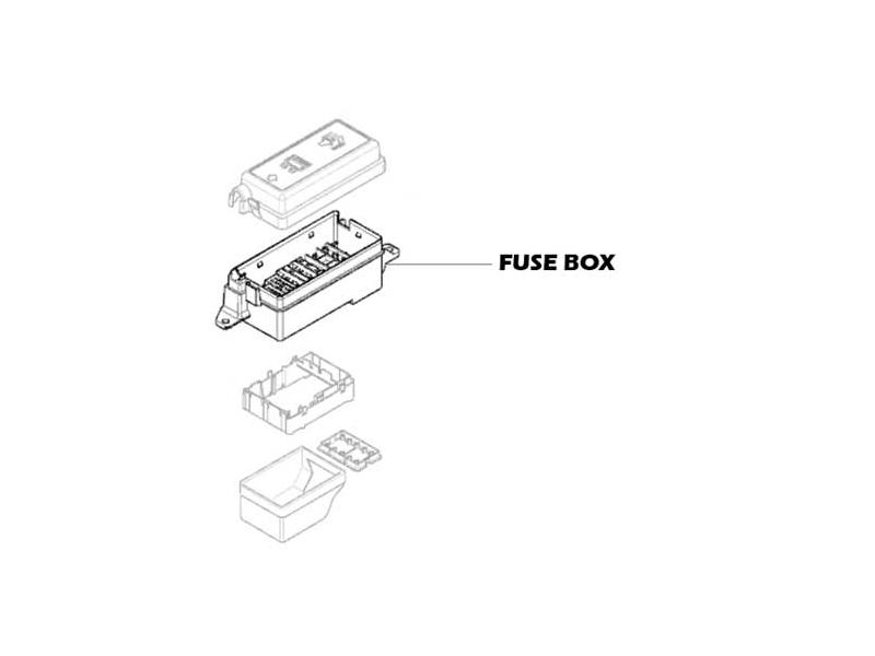mini cooper fuse box oem gen1 r50 r53 from 03 2003. Black Bedroom Furniture Sets. Home Design Ideas