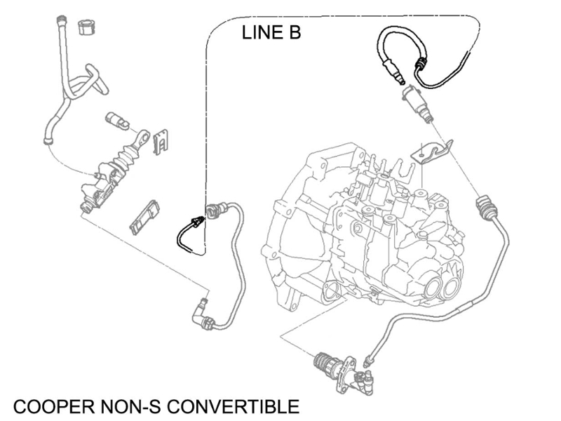changing clutch master cylinder diagram