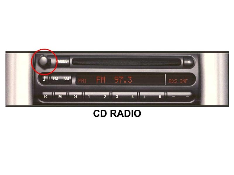 radio stereo knob oem boost radio r50 r52 r53. Black Bedroom Furniture Sets. Home Design Ideas