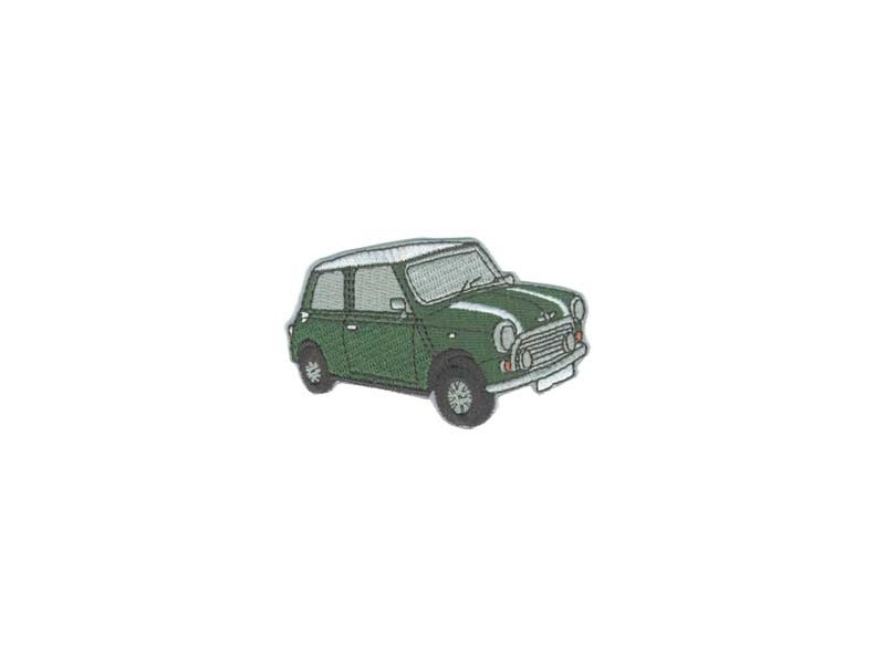 Classic Mini Patch - Green