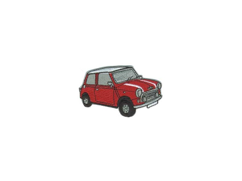 Classic Austin Mini Patch - Red