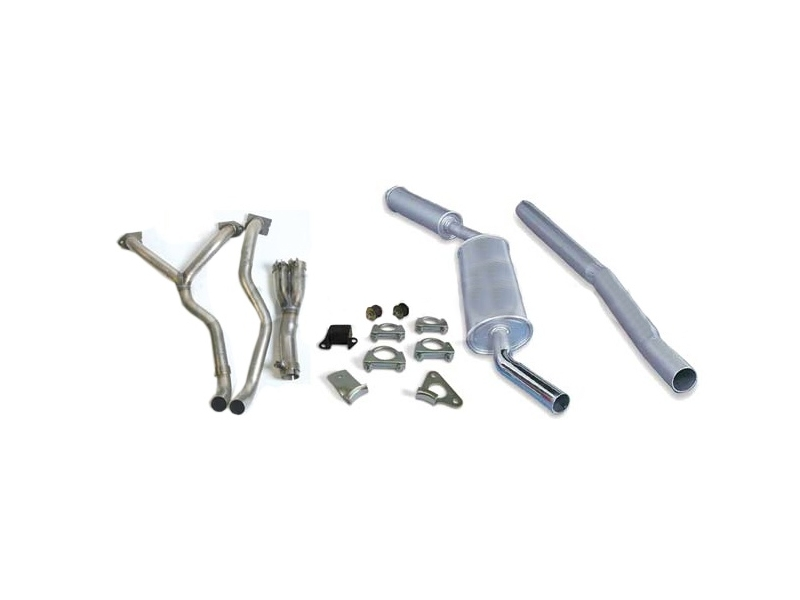 Austin Mini Exhaust Rc40 And Fitting Kit Plus Exhaust Manifold