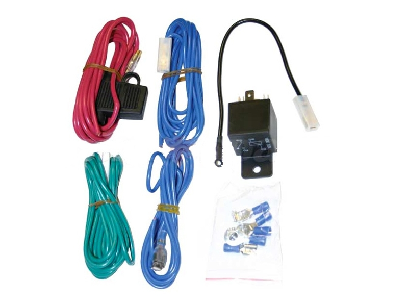 classic austin mini relay wiring kit for spots o. Black Bedroom Furniture Sets. Home Design Ideas