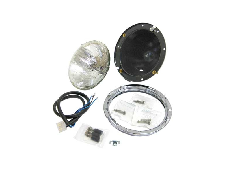 Headlamp Headlight Assy With Bulb And Metal Bucket