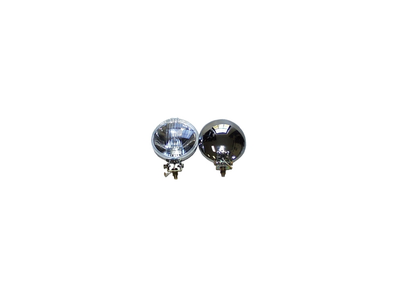 Chrome Spotlight Driving Lights Pair 5 1/2 By Wipac