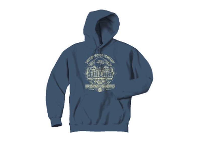 Hooded Sweatshirt Bmc Tradition Blue - Mini Cooper & S