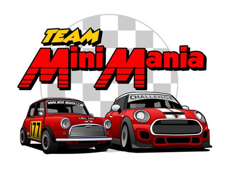 Mini Cooper T-shirt Team Mini Mania 2016 Xl