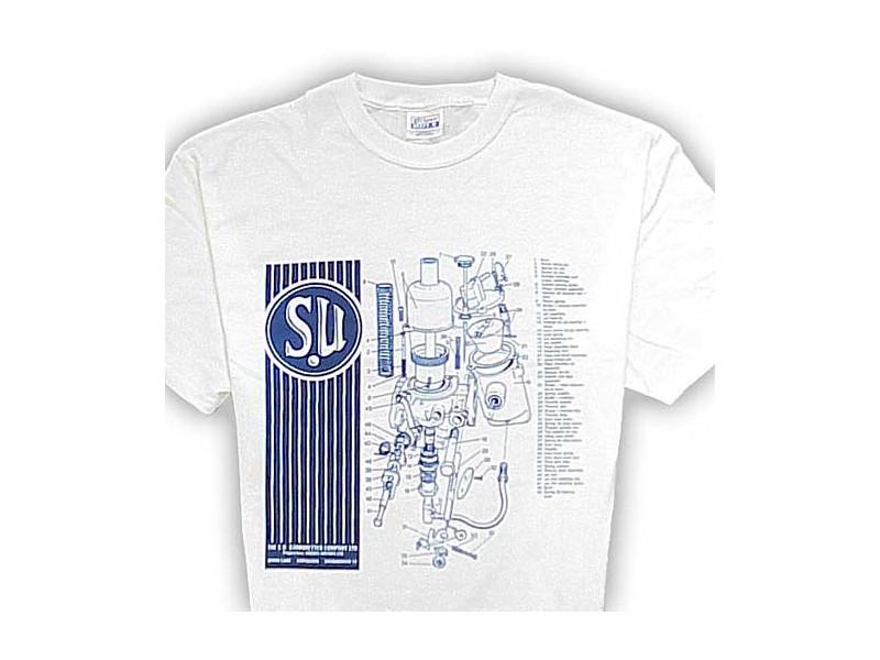 T-shirt - Su Carburator - Double Extra Large
